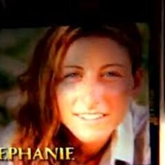 Stephanie's picture in the opening.