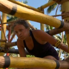 Sophie competing in the challenge.