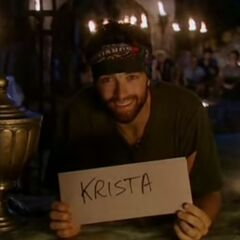 Ryan O. votes against Christa.