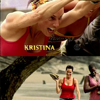 Kristina in her opening sequence.