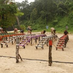 The final 11 compete for individual immunity.