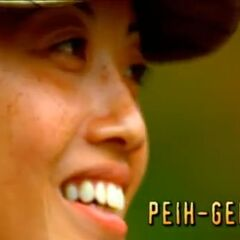 Peih-Gee's second motion shot in the opening.