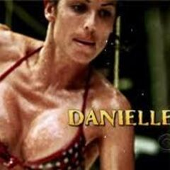 Danielle's second motion shot in the opening.