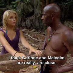 Andrea telling Phillip her concerns.