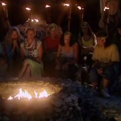 The women's second Tribal Council.