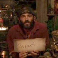 Russell votes off Rupert.