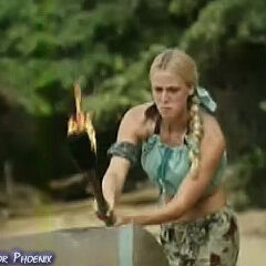 Christa at the Immunity Challenge, <a href=