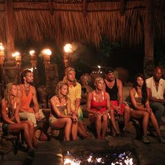 Ometepe at Tribal Council.