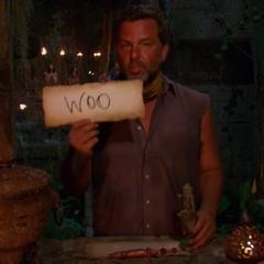 Jeff casts his final vote.