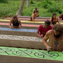 The final seven compete in the challenge in <i><a href=