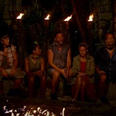 Angkor's second Tribal Council.