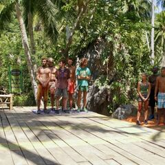 The castaways prepare to compete in their first post-merge <a href=