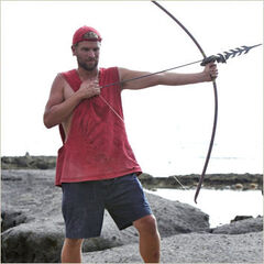 Chris at the Final Immunity Challenge
