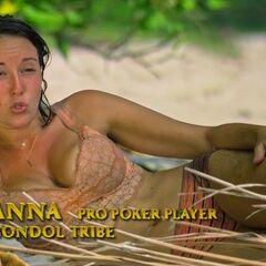 Anna gives a <a href=