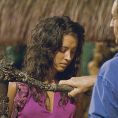 Alexis blindsided by the Aparri tribe.