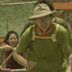 Yau-Man at the 1st Immunity Challenge.