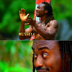 Russell's shots in the opening.
