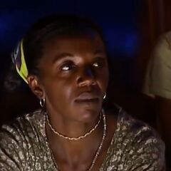Vee at her third Tribal Council.