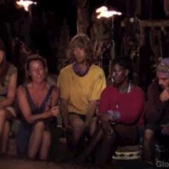 Malakal's last Tribal Council.