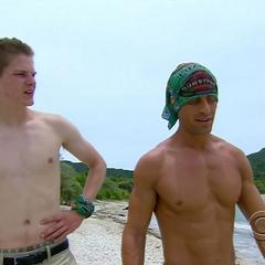 Garrett and Spencer talk.