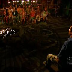 The final ten at Tribal Council.