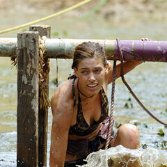 Amanda during the challenge.