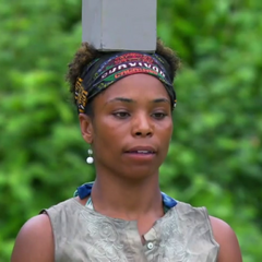 Tasha at the 2nd individual Immunity Challenge, <a href=
