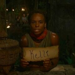 Tasha casts her final vote against Kelley.