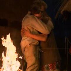 Bob hugging <a href=