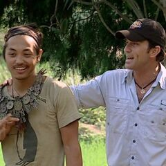 Frosti wins the first individual immunity.