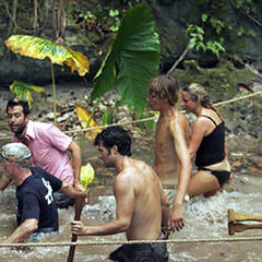 Gregg at the first Immunity Challenge.