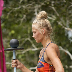 Kelley competing in <i><a href=