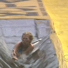 Kelly at the Immunity Challenge, Day 9.