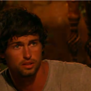 Shannon at Tribal Council.