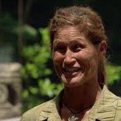 Julie on Redemption Island.