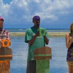Katie competes in the first individual Immunity. Challenge, <a href=