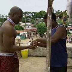 Osten bargaining at the Panamanian village.