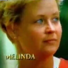 Melinda's motion shot in the first version of the opening.
