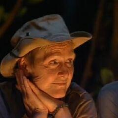 Sonja at Tribal Council.