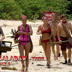 Kalabaw wins immunity and reward.