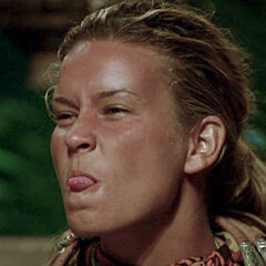 Abi at Tribal Council.