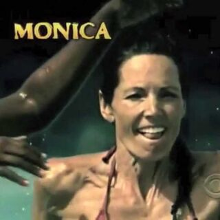 Monica's second motion shot in the opening.