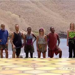 The Final 6 of Survivor: Marquesas.