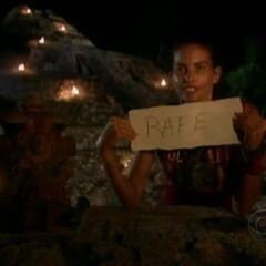 Danni votes Rafe out.