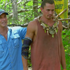 Joe wins his second Individual Immunity.