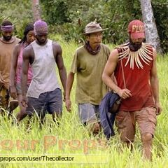 The Final Five heading out to the Immunity Challenge