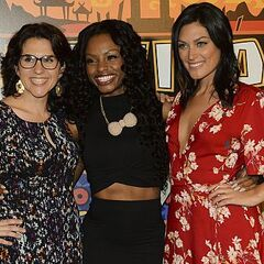 Michele with Aubry and Cydney at the <a href=