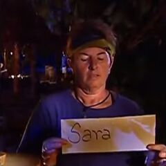 Patricia votes Sarah(revealed after the credits).