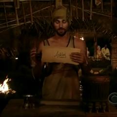 Ben's vote for Ashley