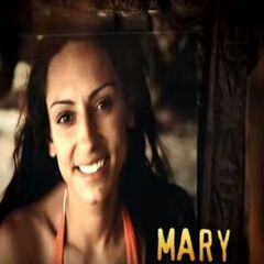 Mary's photo in the opening
